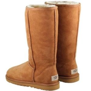 Ugg Classic Tall Chestnut Boots Women's size 5